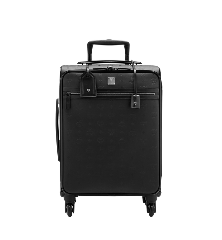MCM Traveler Cabin Trolley in Odeon Black MUV6SHE28BK001 Alternate View 1