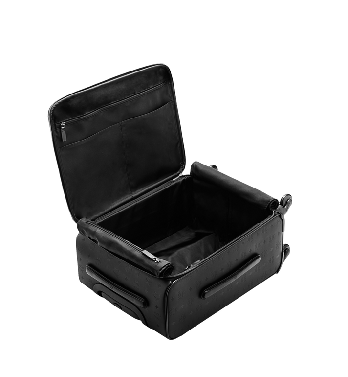 MCM Traveler Cabin Trolley in Odeon Black MUV6SHE28BK001 Alternate View 6