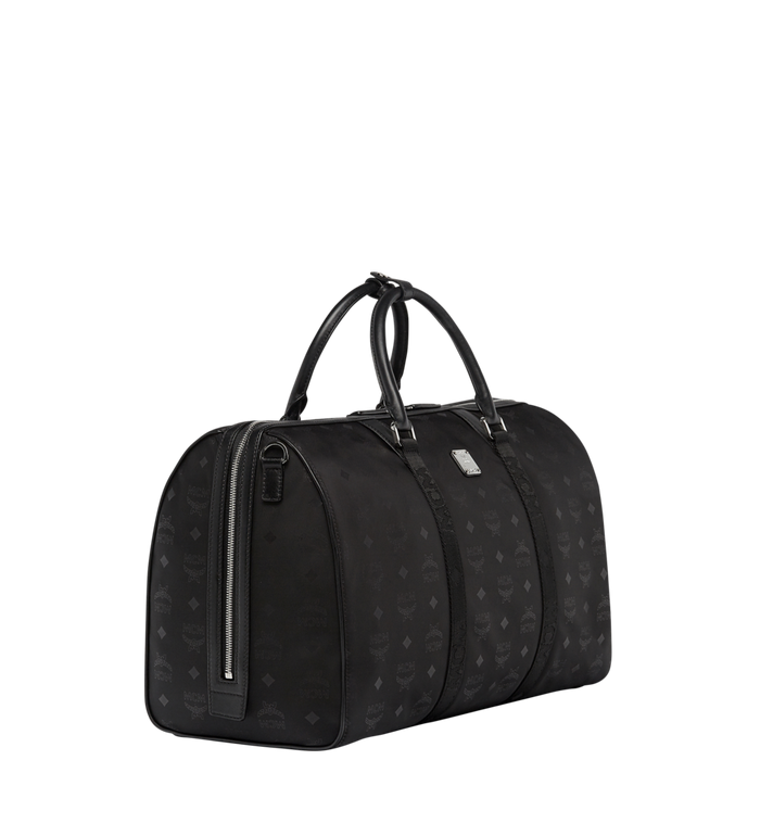MCM Traveler Weekender in Monogram Nylon Black MUV7ADT15BK001 Alternate View 2
