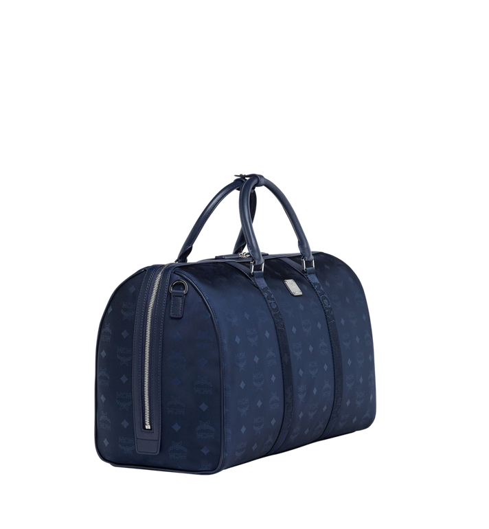 MCM Traveler Weekender in Monogram Nylon Navy MUV7ADT15VA001 Alternate View 2