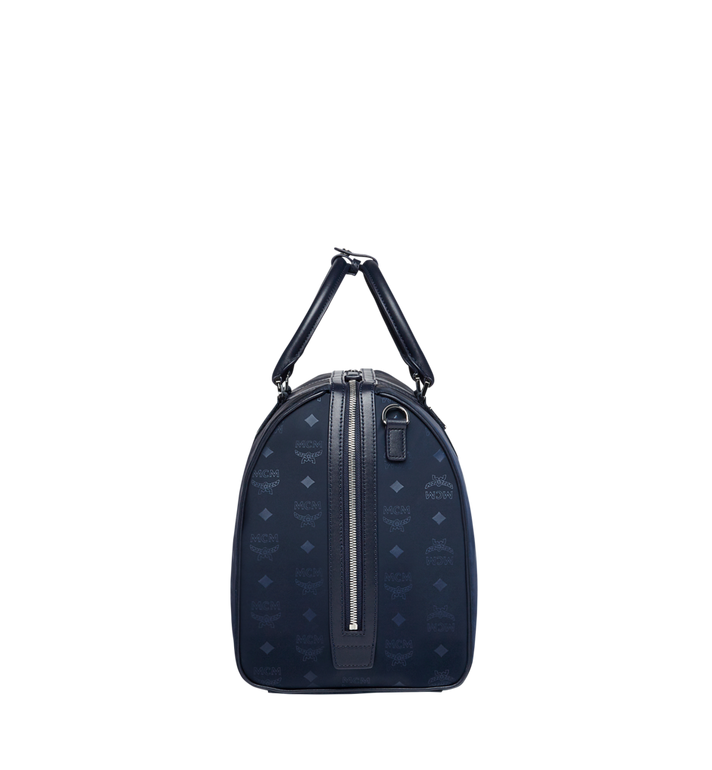 MCM Traveler Weekender in Monogram Nylon Navy MUV7ADT15VA001 Alternate View 3