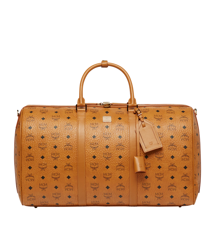 MCM Traveler Visetos 周末旅行包 Cognac MUV7AVY02CO001 Alternate View 1