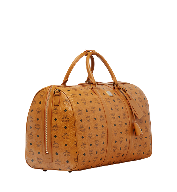 MCM Traveler Weekender in Visetos Cognac MUV7AVY02CO001 Alternate View 2