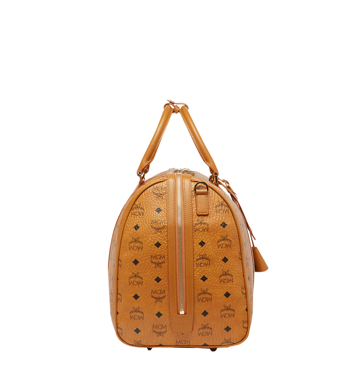 MCM Traveler Visetos 周末旅行包 Cognac MUV7AVY02CO001 Alternate View 3