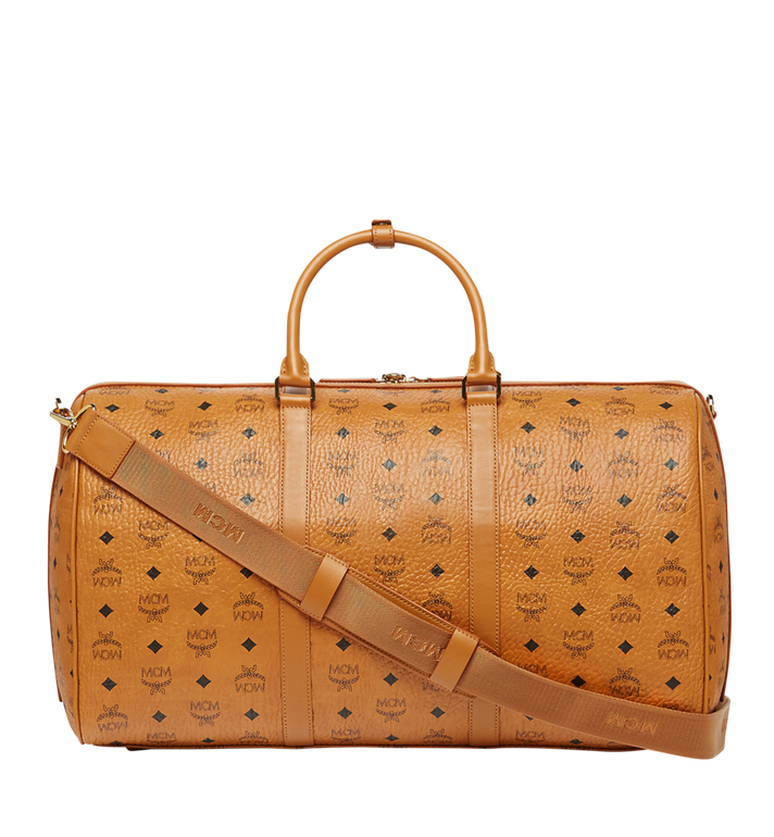 MCM Traveler Visetos 周末旅行包 Cognac MUV7AVY02CO001 Alternate View 4