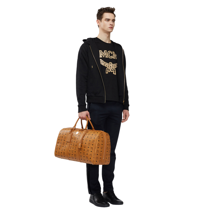 MCM Traveler Weekender in Visetos Cognac MUV7AVY02CO001 Alternate View 6