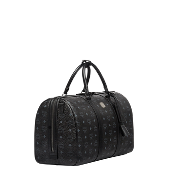 MCM Traveler Weekender in Visetos Black MUV7AVY03BK001 Alternate View 2