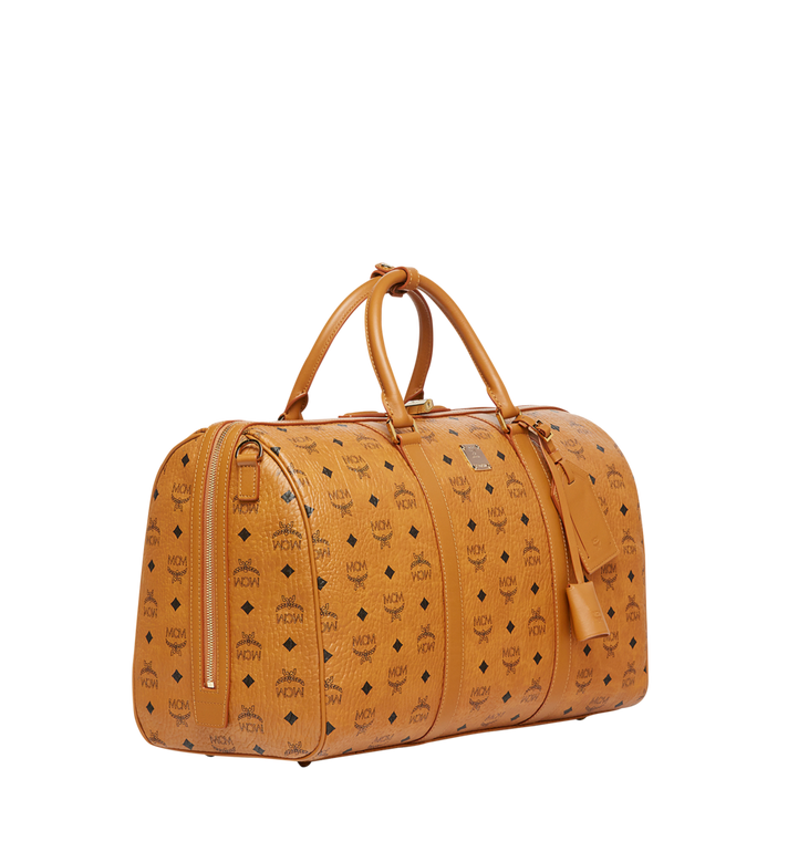 MCM Traveler Weekender in Visetos Cognac MUV7AVY03CO001 Alternate View 2