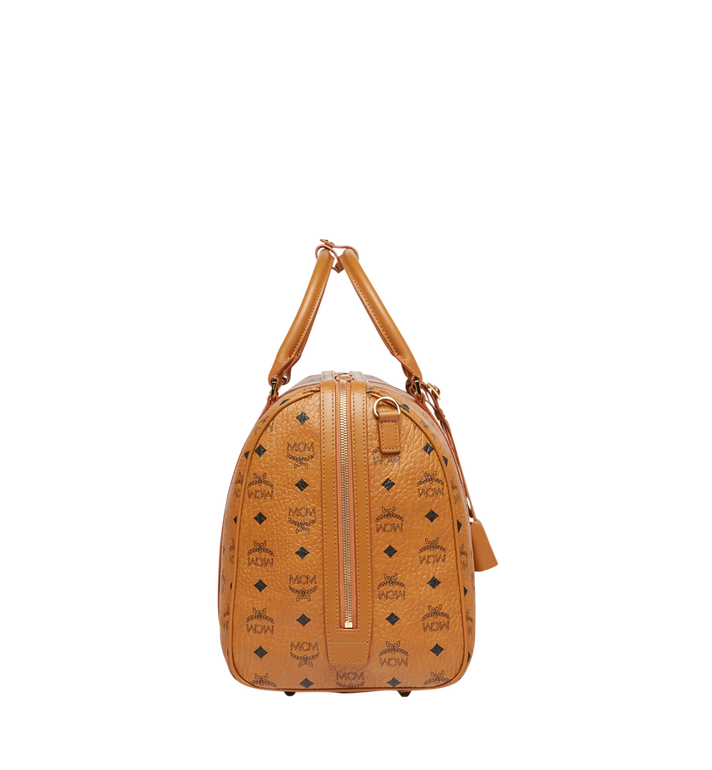 MCM Sac week-end Traveler en Visetos Cognac MUV7AVY03CO001 Alternate View 3