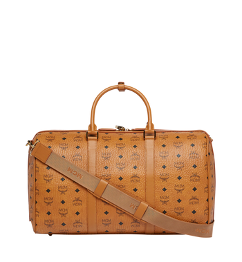 MCM Traveler Weekender in Visetos Alternate View 4
