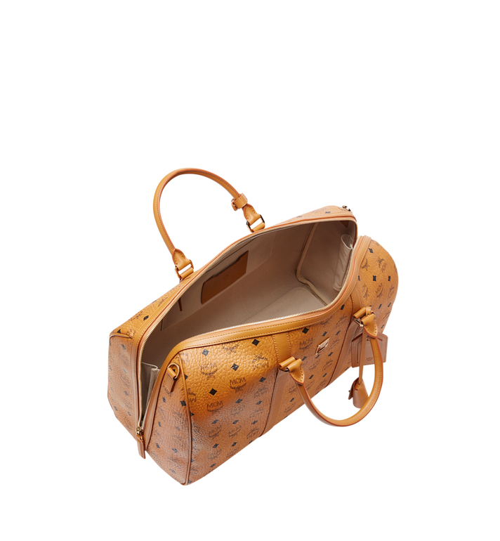MCM Sac week-end Traveler en Visetos Cognac MUV7AVY03CO001 Alternate View 5