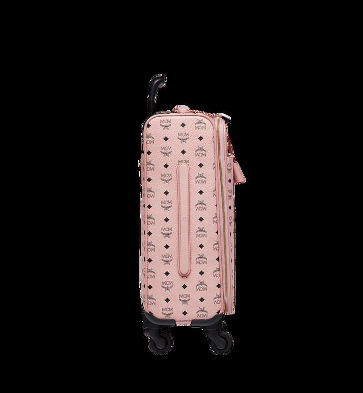MCM Sac à roulettes pour cabine Traveler en Visetos Pink MUV7AVY04PZ001 Alternate View 3