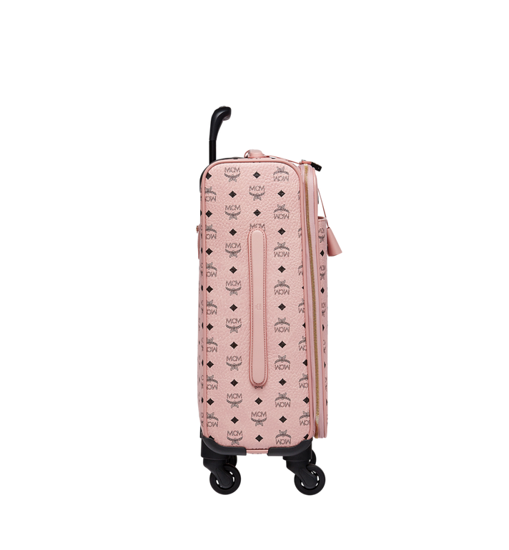 MCM Traveler Kabinentrolley in Visetos Pink MUV7AVY04PZ001 Alternate View 3