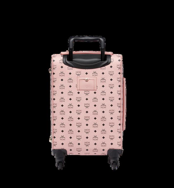 MCM Sac à roulettes pour cabine Traveler en Visetos Pink MUV7AVY04PZ001 Alternate View 4