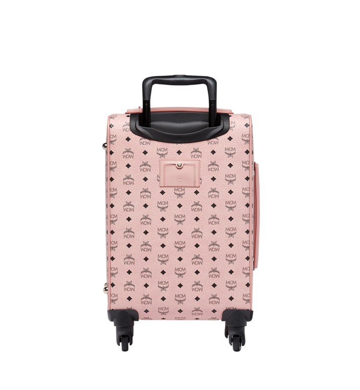 MCM Traveler Kabinentrolley in Visetos Pink MUV7AVY04PZ001 Alternate View 4