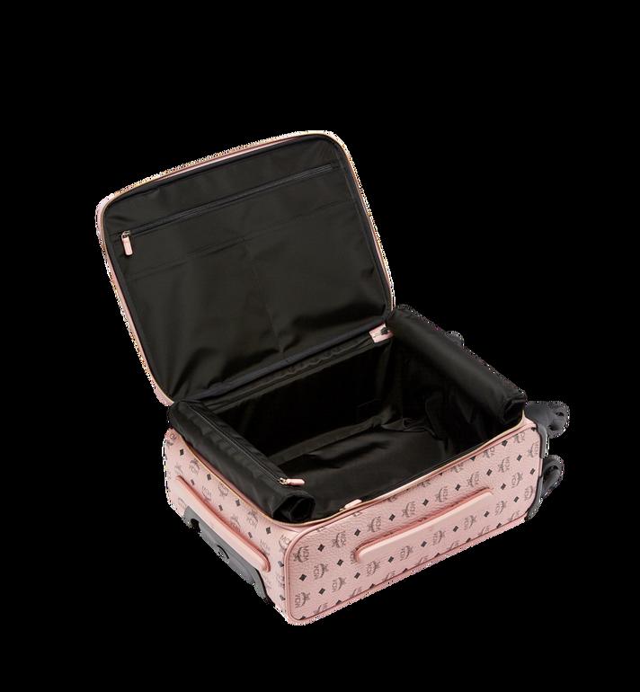 MCM Sac à roulettes pour cabine Traveler en Visetos Pink MUV7AVY04PZ001 Alternate View 5