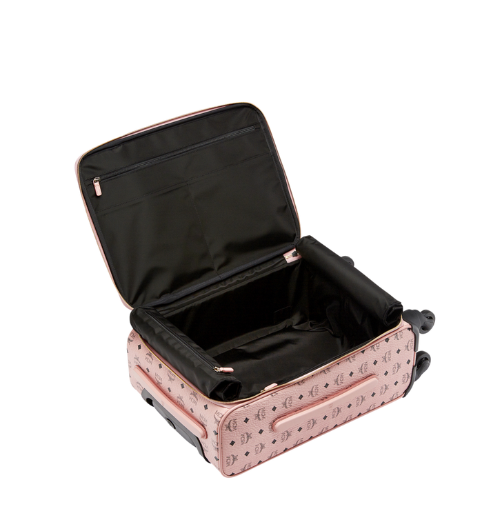 MCM Traveler Kabinentrolley in Visetos Pink MUV7AVY04PZ001 Alternate View 5