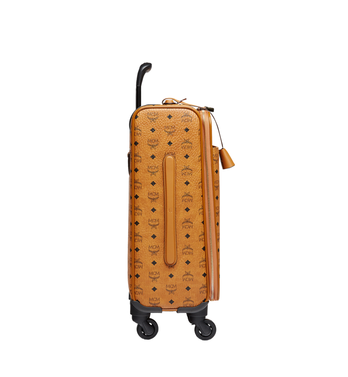 MCM Traveler Cabin Trolley in Visetos Cognac MUV8SVY04CO001 Alternate View 3