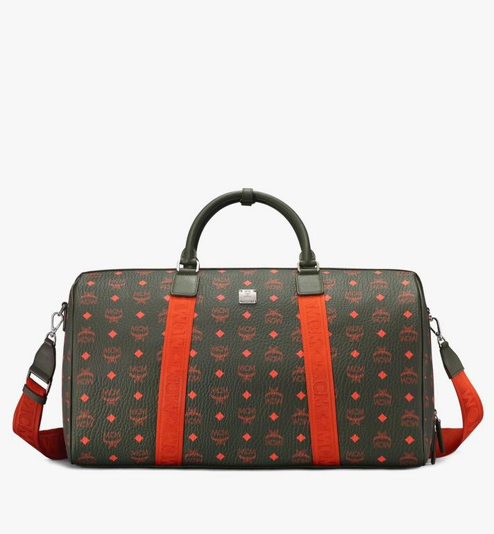 MCM Traveler Weekender-Tasche in Visetos Alternate View