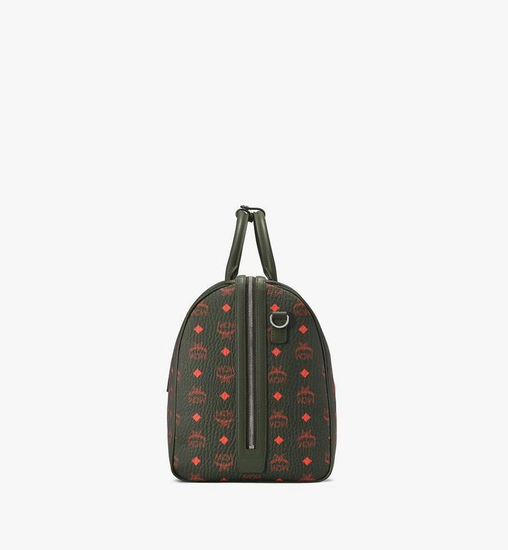 MCM Traveler Weekender Bag in Visetos Alternate View 2