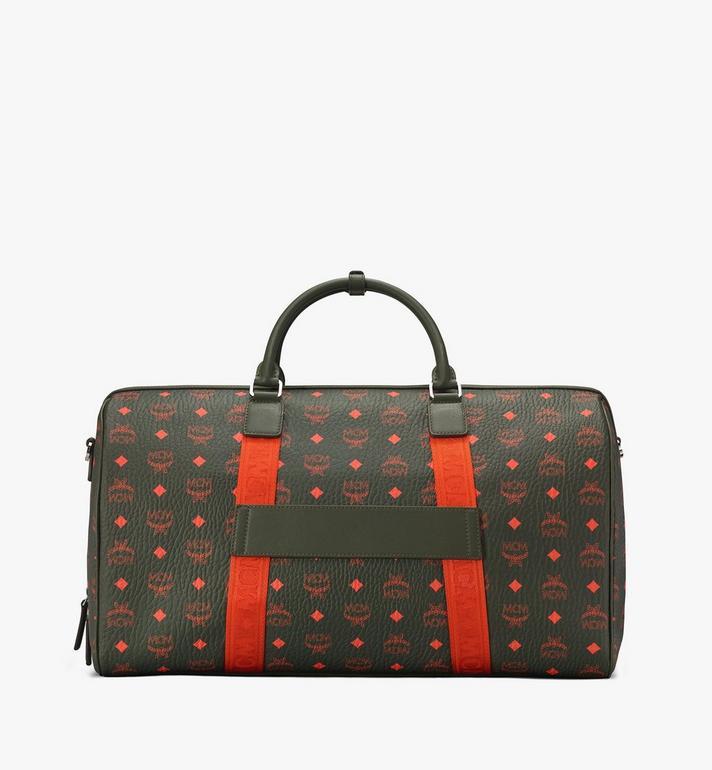 MCM Traveler Weekender Bag in Visetos Alternate View 3