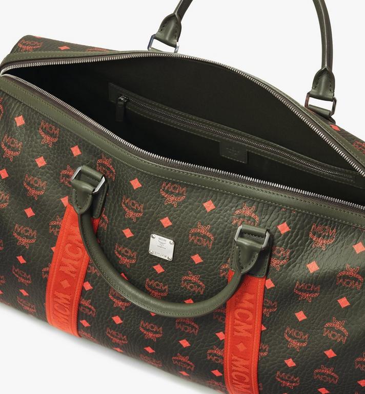MCM Traveler Weekender Bag in Visetos Alternate View 4