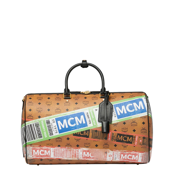 MCM Weekender für die Reise in Flight Print Visetos Alternate View