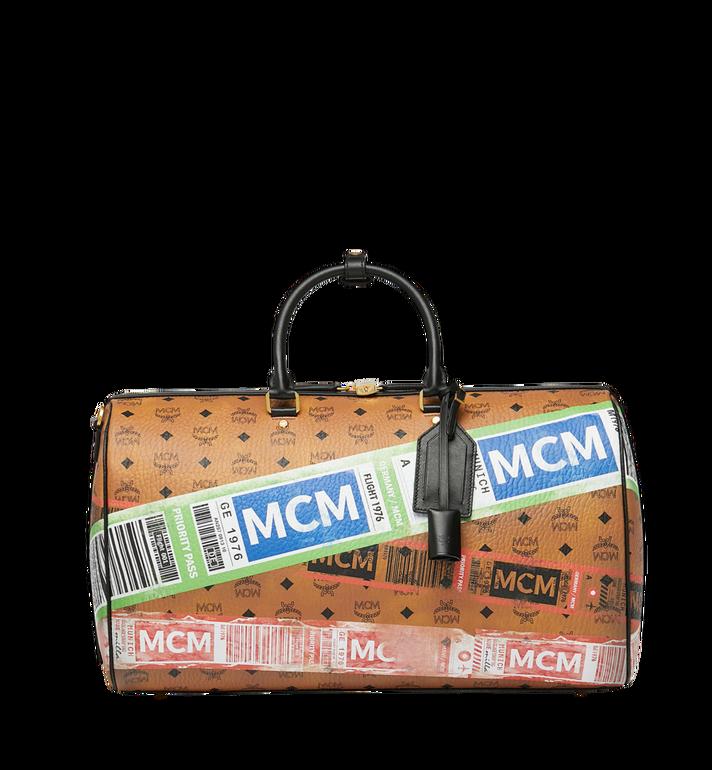 MCM Traveler Weekender in Flight Print Visetos Alternate View