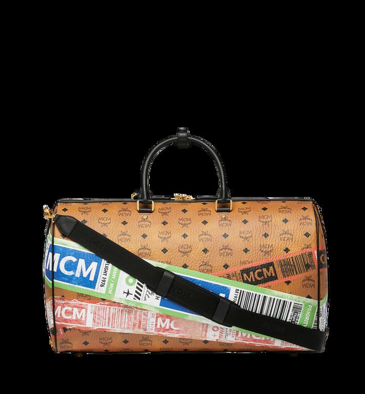 MCM Sac week-end Traveler en Visetos Flight Print Alternate View 4