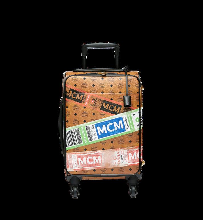 MCM Reise-Trolley in Flight Print Visetos Alternate View