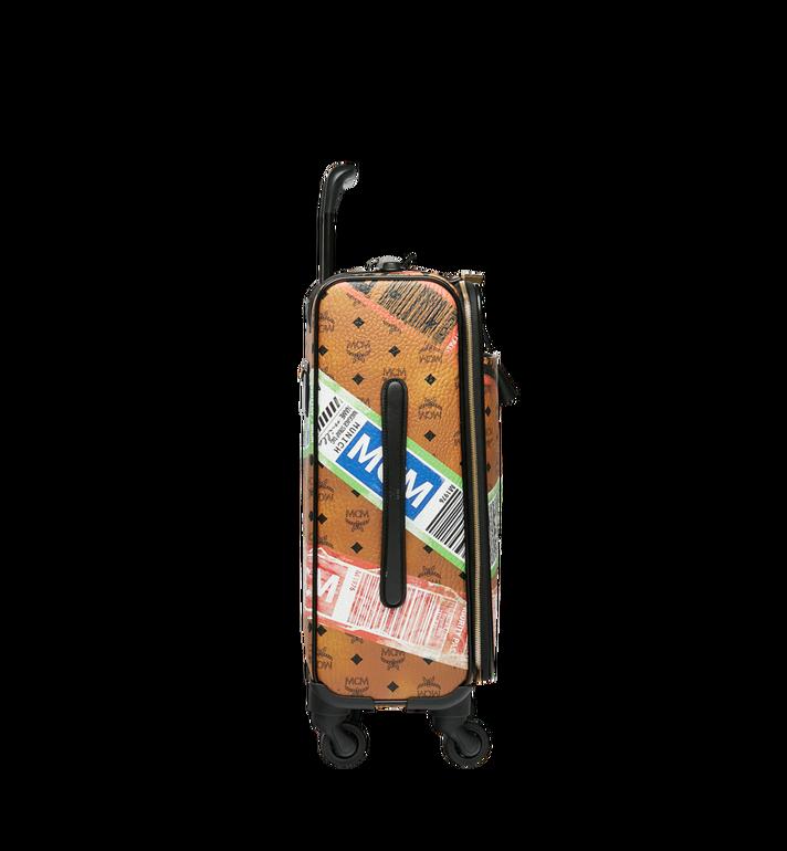 MCM Reise-Trolley in Flight Print Visetos Alternate View 3