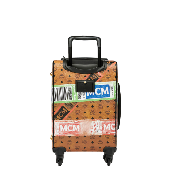 MCM Reise-Trolley in Flight Print Visetos Alternate View 4