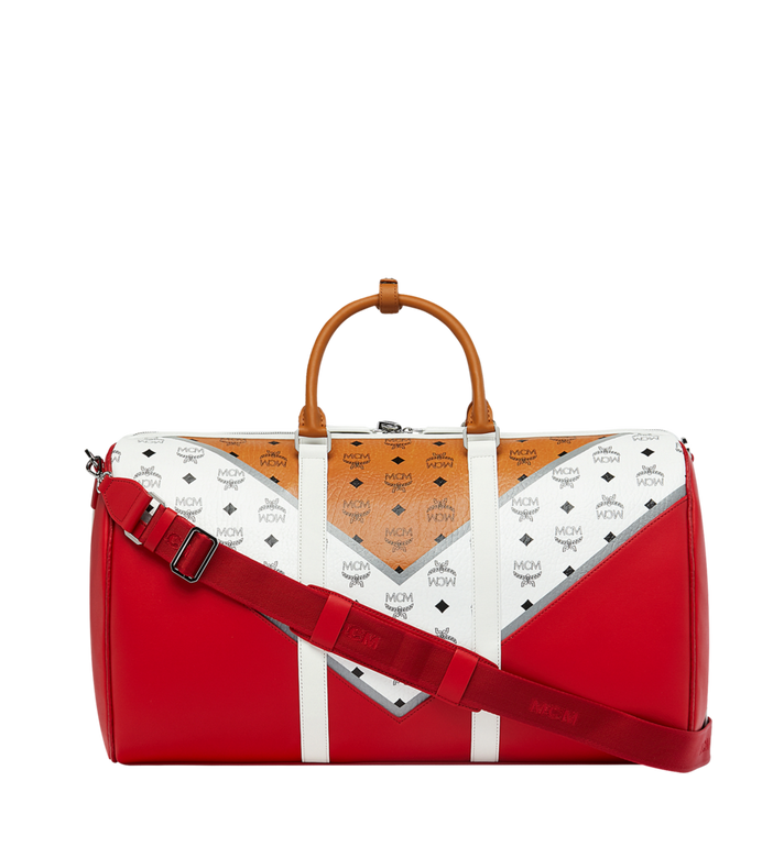 MCM Traveler Weekender in M Move Visetos Alternate View 4