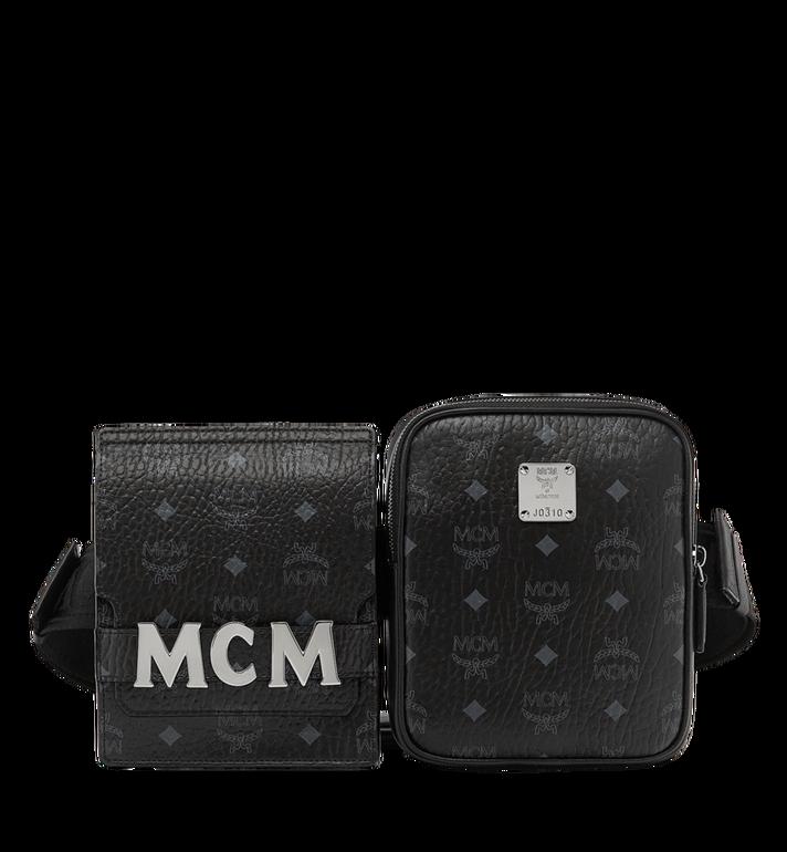 61ae344bfe5 Stark Modular Belt Bag In Visetos in Black