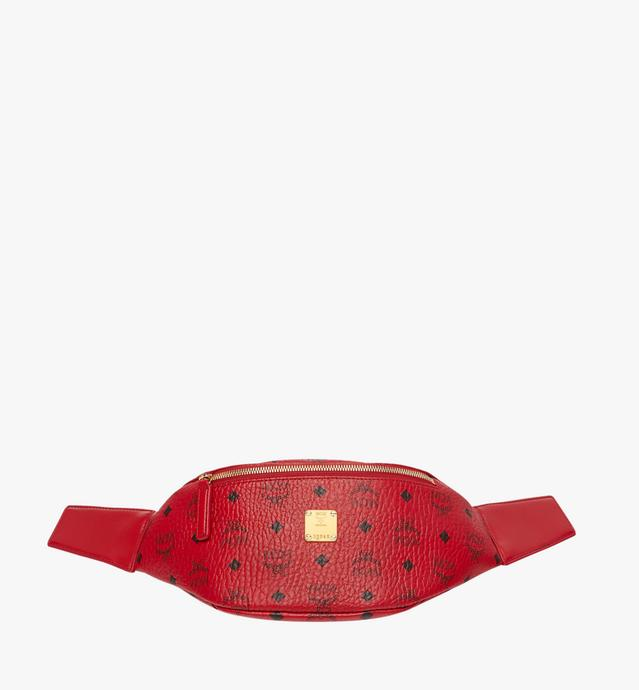 MCM x RED Belt Bag in Visetos