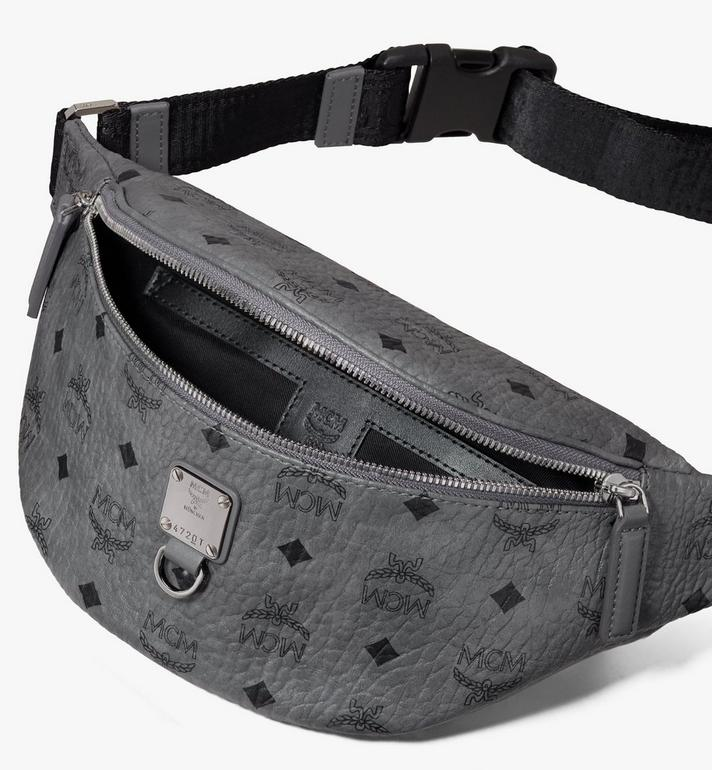 MCM Fursten Belt Bag in Visetos Alternate View 3