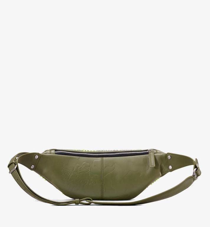 MCM Fursten Belt Bag in Studded Lion Camo  MUZ9AFI33G8001 Alternate View 2