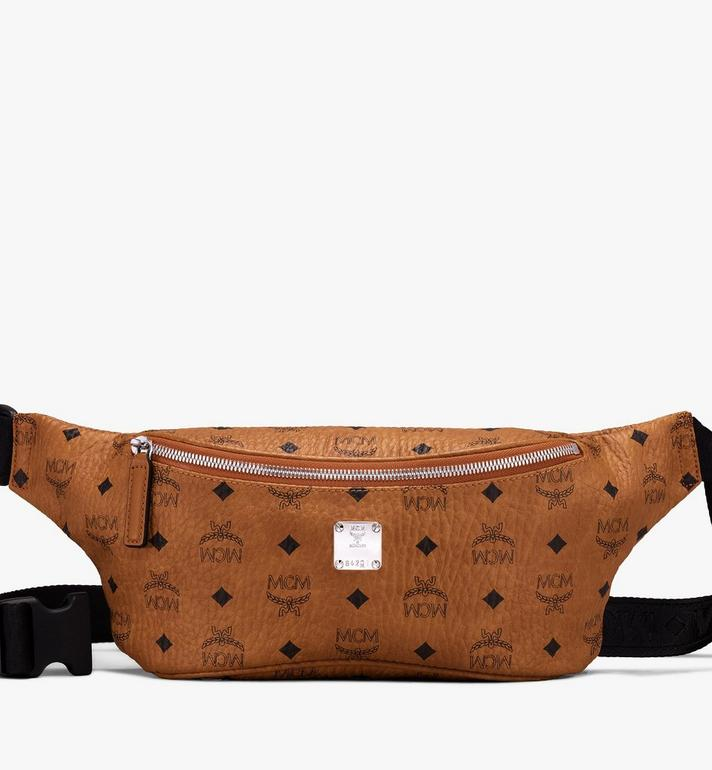 MCM Jemison Belt Bag in Visetos Alternate View