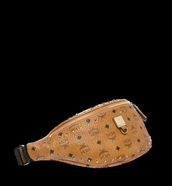 MCM Fursten Belt Bag in Studded Outline Cognac MUZ9SFI10CO001 Alternate View 2