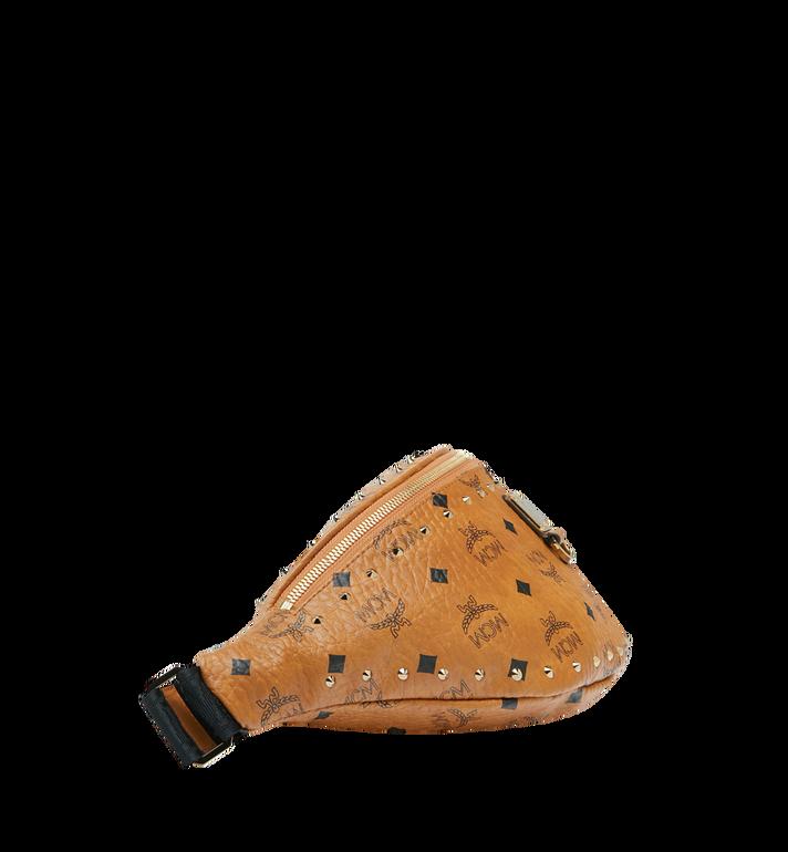 MCM Fursten Belt Bag in Studded Outline Cognac MUZ9SFI10CO001 Alternate View 3