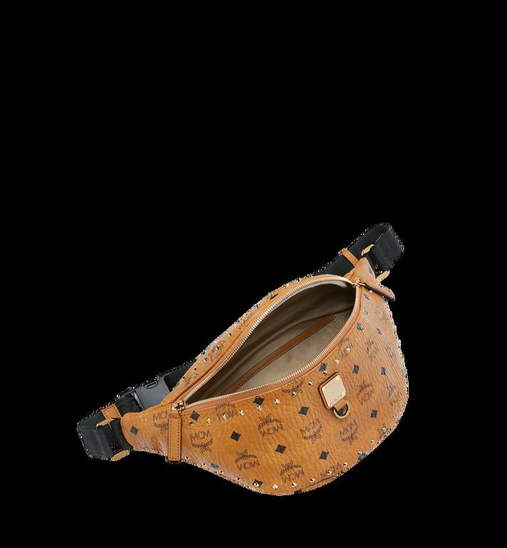 MCM Fursten Belt Bag in Studded Outline Cognac MUZ9SFI10CO001 Alternate View 5