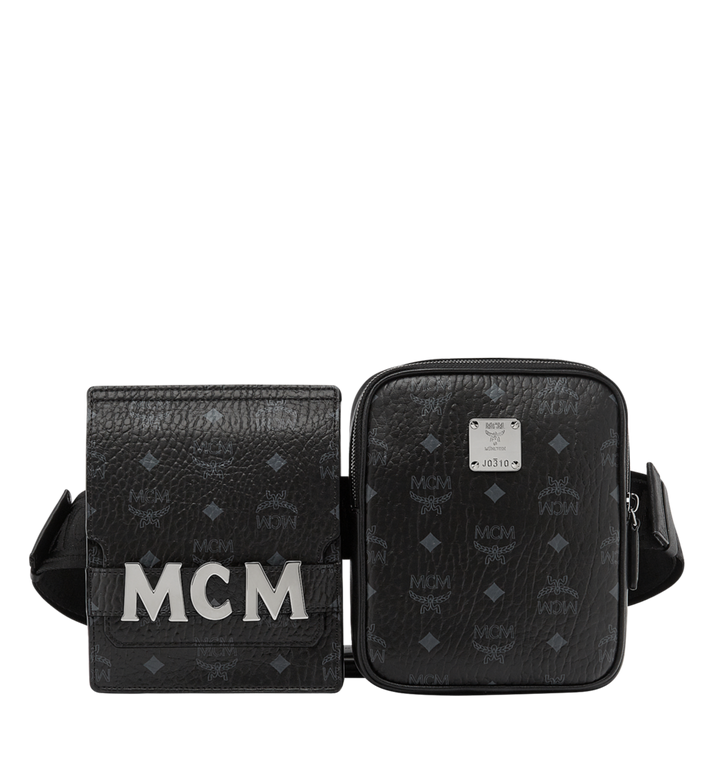 MCM Stark Modular Belt Bag in Visetos Alternate View