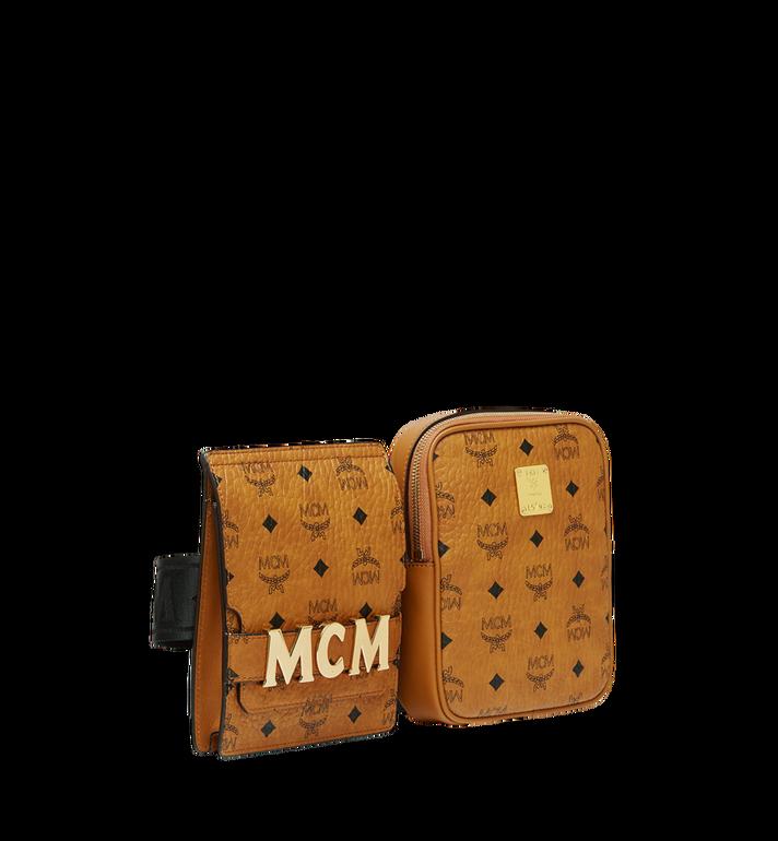 MCM Stark Modular Belt Bag in Visetos Cognac MUZ9SFI11CO001 Alternate View 2