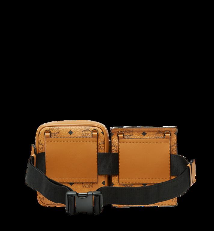 MCM Stark Modular Belt Bag in Visetos Cognac MUZ9SFI11CO001 Alternate View 4