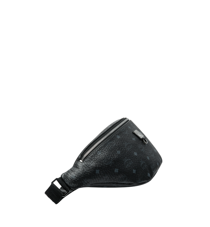 MCM Fursten Belt Bag in Visetos Black MUZ9SFI21BK001 Alternate View 3