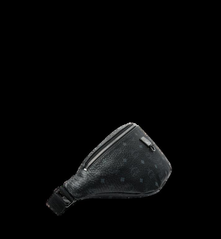MCM Sac porté à la taille Fursten en Visetos Black MUZ9SFI21BK001 Alternate View 3