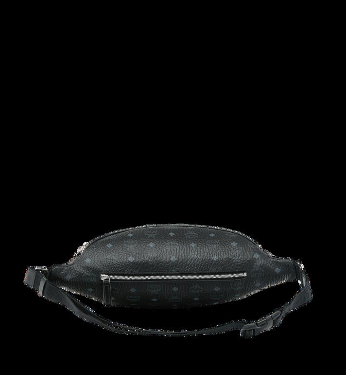 MCM Sac porté à la taille Fursten en Visetos Black MUZ9SFI21BK001 Alternate View 4