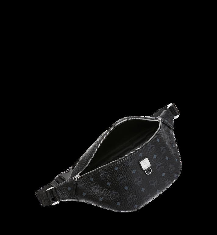 MCM Sac porté à la taille Fursten en Visetos Black MUZ9SFI21BK001 Alternate View 5