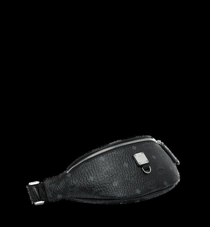 MCM Sac porté à la taille Fursten en Visetos Black MUZ9SFI27BK001 Alternate View 2