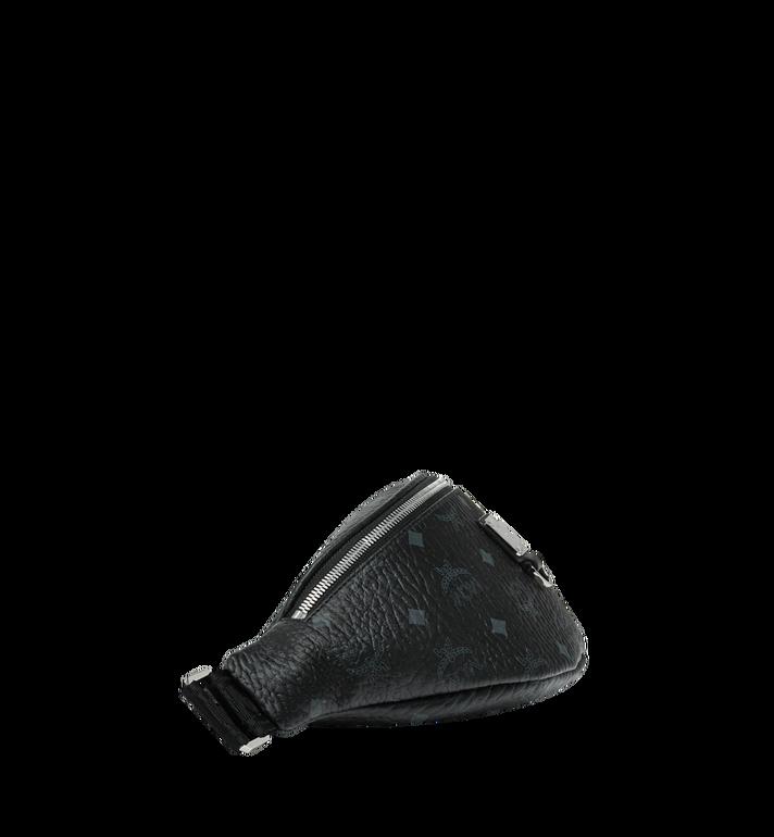 MCM Sac porté à la taille Fursten en Visetos Black MUZ9SFI27BK001 Alternate View 3